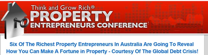TGR & Stuart Zadel; Think and Grow Rich PROPERTY Entrepreneurs Conference.